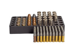 Bullets and Bullet Shells Stock Image