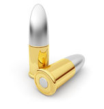 Bullets. Cartridge. 3D Stock Photos