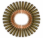 Bullets circle Royalty Free Stock Photos