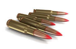 Bullets (clipping path included) Royalty Free Stock Image