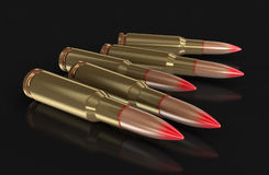 Bullets (clipping path included) Royalty Free Stock Photo