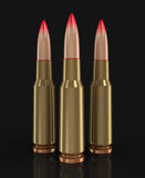 Bullets (clipping path included) Stock Photos
