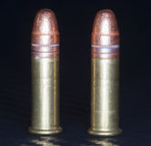 Bullets covered in copper Stock Photography
