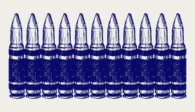 Bullets. Doodle style Royalty Free Stock Photos