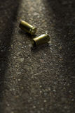 Bullets on the ground Stock Image