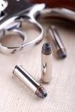 Bullets with gun Stock Photos