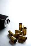 Bullets with gun Royalty Free Stock Photography