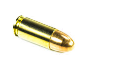 Bullets with the gun Stock Photo