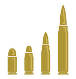 Bullets  icons Royalty Free Stock Photos