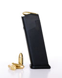 Bullets and magazine Royalty Free Stock Photos