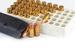 Bullets and Magazine Stock Images