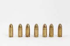 Bullets. Many bullets on a white background Royalty Free Stock Photography