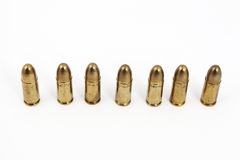 Bullets. Many bullets on a white background Royalty Free Stock Photos