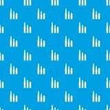 Bullets pattern seamless blue. Bullets pattern repeat seamless in blue color for any design. Vector geometric illustration Royalty Free Stock Image