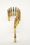 Bullets positioned as a question mark Stock Photos