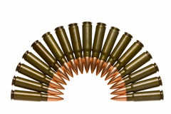 Bullets rainbow Royalty Free Stock Images