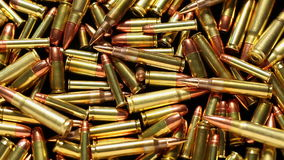Bullets rotating Royalty Free Stock Images