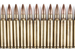 Bullets Row Stock Images
