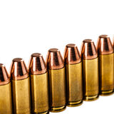 Bullets row Royalty Free Stock Image