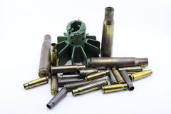 Bullets shells Stock Photography