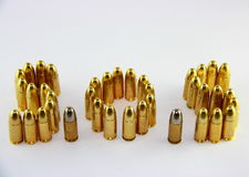 Bullets with SOS Stock Image
