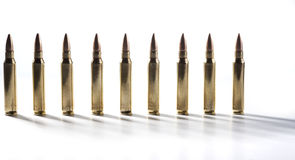 Bullets Standing Stock Photos