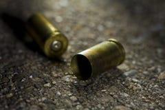 Bullets ter plaatse stock foto's