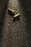 Bullets ter plaatse stock afbeelding