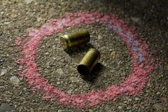 Bullets ter plaatse royalty-vrije stock afbeeldingen