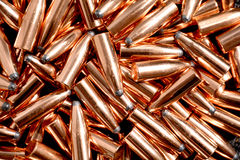 Bullets for weapons Royalty Free Stock Image