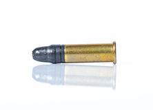 Bullets. 0.22 Bullets on white background Stock Images