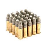 Bullets on white background Stock Images