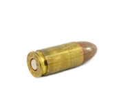 Bullets on white background. Royalty Free Stock Photos