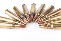 Bullets on White Royalty Free Stock Images