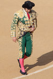Bullfigher risking Stock Images