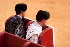 Bullfight6. Animal bullfight bullfighting culture europe matador spain summer valencia victory royalty free stock images