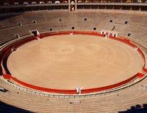 Bullfight arena. Center of the bullfight arena in Palma de Majorca, Spain Stock Image