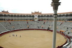Bullfight Arena Royalty Free Stock Image