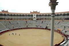 Bullfight Arena. Square, Madrid - Spain Royalty Free Stock Image