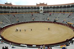 Bullfight Arena Royalty Free Stock Photos