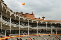 Bullfight Arena Royalty Free Stock Photo