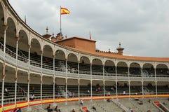 Bullfight Arena. Square, Madrid - Spain Royalty Free Stock Photo