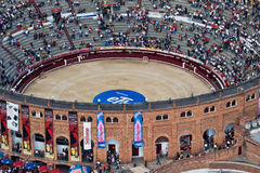 Bullfight Arena in Bogota Colombia Stock Photo