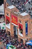 Bullfight Arena in Bogota Colombia Stock Image