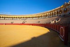 Bullfight arena, Plac De Toros przy Sevilla, Hiszpania Fotografia Royalty Free