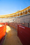 Bullfight arena, plaza de toros at Sevilla, Spain Stock Photography