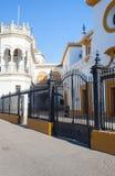 Bullfight arena, plaza de toros at Sevilla, Spain Royalty Free Stock Photo