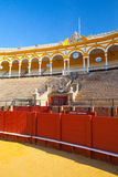 Bullfight arena, plaza de toros at Sevilla, Spain Royalty Free Stock Photography