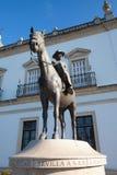 Bullfight arena, plaza de toros at Sevilla, Spain Royalty Free Stock Photography