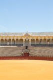 Bullfight arena, plaza de toros in Seville,La Maestranza Stock Photos